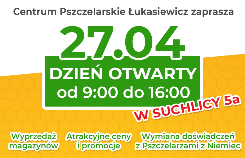 Dzień Otwarty w Centrum Pszczelarskim Łukasiewicz   Pszczoly.eu